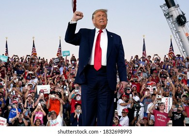 10/13/2020,USA:President Donald Trump has returned to the campaign trail less than two weeks after testing positive for coronavirus.