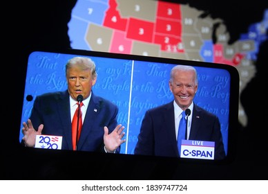 10/24/2020,USA:The debate gave Trump a bump in a crucial swing state, betting data suggests.
