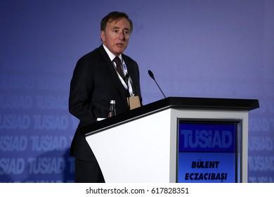 11 February 2016. Istanbul, Turkey. Bulent Eczacibasi is a Turkish businessman.