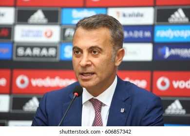 11 June 2015. Istanbul, Turkey. Fikret Orman is a Turkish businessman. He is currently the president of the sports club Be?ikta? J.K..