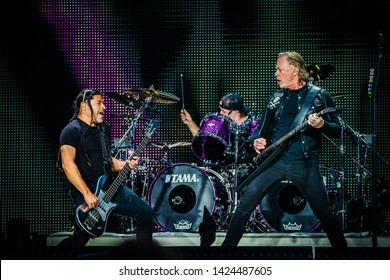 11 June 2019. Johan Cruijff ArenA, Amsterdam. Concert of Metallica