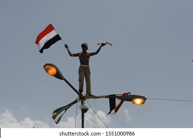 11 October 2011. Sana'a Yemen. The Arab Spring or Democracy Spring was a revolutionary wave of both violent and non-violent demonstrations, protests, riots, coups and civil wars in North Africa.