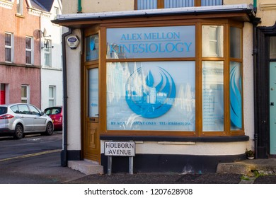 11 October 2018 A local Kinesioligist's consultancy in Holborn Avenue in Bangor County Down. This is a recognised form of alternative medicine that is growing in popularity,