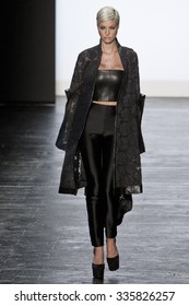 11 September 2015 - New York,USA - Candice Cuoco Project Runway season 14 Finale collection at New York Fashion Week Spring Summer 2016 at Moynihan station