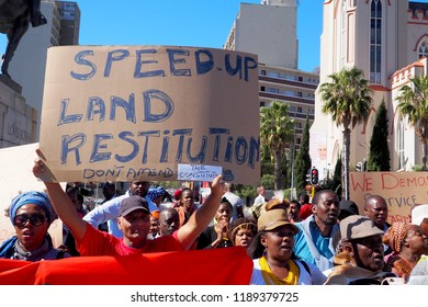 11 September 2018 - Protestors March to Parliament in Cape Town