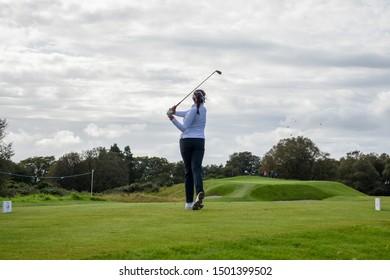 11 September, 2019 - Gleneagles, Scotland; 2019 Solheim Cup  PING Junior Solheim Cup, Photography by Matt Hooper for St Andrews Magazine