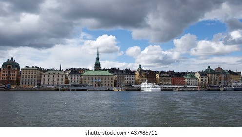 11.06.16 - Stockholm, Sweden. Old town panorama