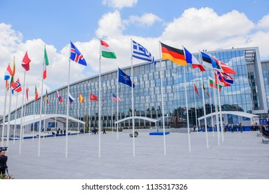 11.07.2018. BRUSSELS, BELGIUM. Official Opening Ceremony for NATO (North Atlantic Treaty Organization) SUMMIT 2018)