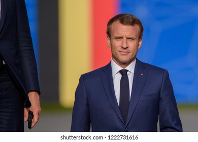 11.07.2018. BRUSSELS, BELGIUM. World leaders arrives for Working dinner, during NATO (North Atlantic Treaty Organization) SUMMIT 2018)