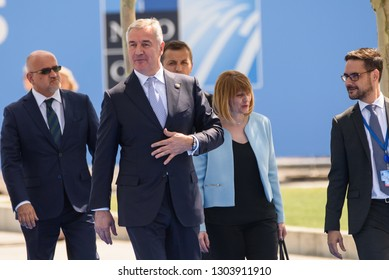 11.07.2018. BRUSSELS, BELGIUM. World leaders Arriving to NATO (North Atlantic Treaty Organization) SUMMIT 2018