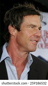 """11/20/2005 - Hollywood - Dennis Quaid at the """"Yours, Mine, and Ours"""" Los Angeles Premiere at the Cinerama Dome in Hollywood, California, United States."""