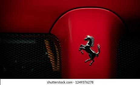 11/3/18 - Elizabeth NJ - The La Ferrari, one of Ferraris most wild cars ever uses hybrid technology for extra power.