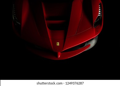 11/3/18 - Elizabeth NJ - The La Ferrari, one of Ferraris most wild cars ever uses hybrid technology for extra power.