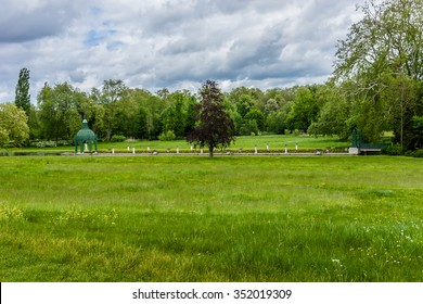 115 acres of park in famous Chateau de Chantilly (Chantilly Castle, 1560). Chantilly is a historic chateau located in town of Chantilly, Oise, Picardie, France.