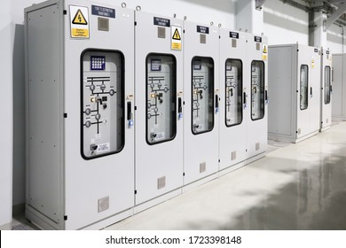 115kV Local Control Panel  of Gas Insulated Switchgear (GIS) for manual control circuit breaker, disconector, earthing switch, show indicator and alarm of equipments.