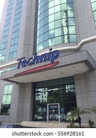 1/16/2017: Kuala Lumpur,Malaysia: D-1 day, a day before the official merger of Technip & FMC (1/17/2017), the official logo of the new company is still under wraps