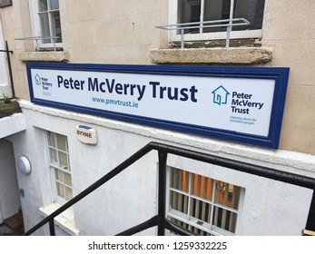 11th December 2018 Drogheda. Peter MvVerry Trust office in Drogheda. Peter McVerry Trust is a charity set up by Fr McVerry to reduce homelessness and the harm caused by drug and social disadvantage.
