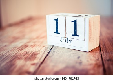 11th of July - 11 July - National Cheer Up The Lonely Rainier Cherry National Blueberry Muffin
