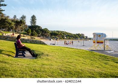 11th November 2015, Cottesloe Beach, Perth, Western Australia.