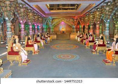 11th September 2015,Ramoji Film City,Hydrabad,India.Raj Darbar Model Art in Ramoji Film City, Hydrabad,India.Taken on 11th Septembar2015,