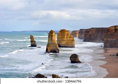 12 Apostles, great ocean road, Victoria State Australia