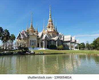 12 Dec 2018 Wat Luang Phor Tor Temple ot Wat Wat Soraphong Temple Sikiew, Nakhon Ratchasima, north-east, Thailand