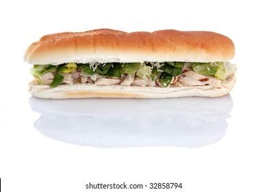 12 inch Chicken Caesar sub