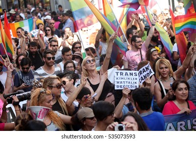 12 june 2013 turkey istanbul. gay or lgbt pride in istanbul