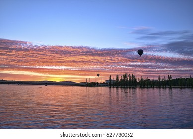 12 March 2017. The Canberra Balloon Spectacular is considered to be one of the best hot air ballooning events. Pilots begin inflating their balloons on the lawns of Old Parliament House from sunrise.