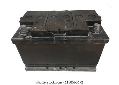 12 volt old car battery