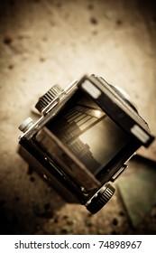 120 camera viewfinder