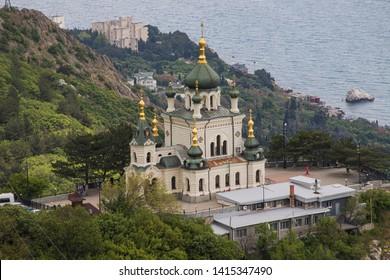 12.05.19  Crimea. Foros. Foros Church of the Resurrection on Red Rock