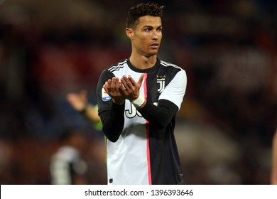 12.05.2019. Stadio Olimpico, Rome, Italy. Serie A  League. CRISTIANO RONALDO CR7 in action during the match AS ROMA VS FC JUVENTUS  at Stadio Olimpico in Rome.