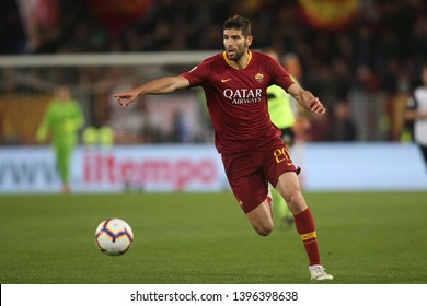12.05.2019. Stadio Olimpico, Rome, Italy. Serie A  League. FEDERICO FAZIO in action during the match AS ROMA VS FC JUVENTUS  at Stadio Olimpico in Rome.