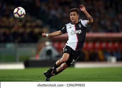 12.05.2019. Stadio Olimpico, Rome, Italy. Serie A  League.  PAULO DYBALA in action during the match AS ROMA VS FC JUVENTUS  at Stadio Olimpico in Rome.