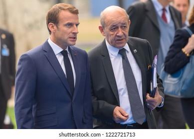 12.07.2018. BRUSSELS, BELGIUM. World leaders Arriving to NATO (North Atlantic Treaty Organization) SUMMIT 2018