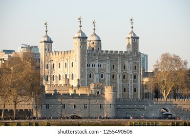 12.11.2018 - View of The Tower Of London, London, England