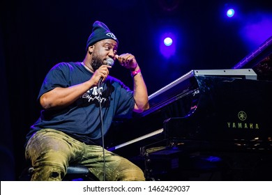 12-14 July 2019. North Sea Jazz Festival, Ahoy Rotterdam, The Netherlands. Concert of Robert Glasper
