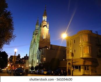 12th October 2016, Saints Peter and Paul church, San Francisco, USA