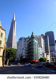 12th October 2016, San Francisco skyscrapers, USA