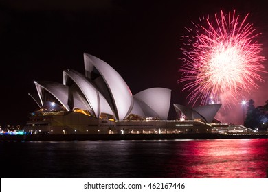 13 December 2014 Fabulous fireworks light up the Sydney night sky every Saturday night from 8:30 PM