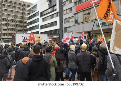 13  January 2017 - Tuition fees protest in Stuttgart,Germany