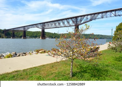 At 1.3 miles, Walkway over the Hudson (formerly the Highland-Poughkeepsie railroad bridge) in Poughkeepsie, New York, USA is the longest pedestrian bridge in the world.