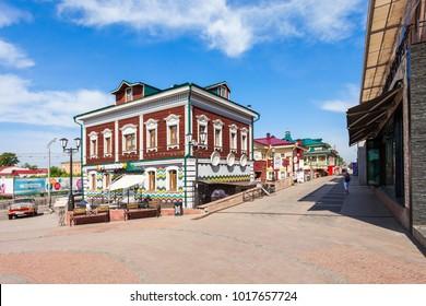 130 Kvartal quarter (Irkutsk Sloboda) is a specially created area of historic buildings in the center of Irkutsk, Russia.