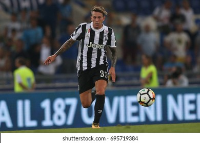 13.08.2017. Stadio Olimpico, Rome, Italy. Super Cup Tim Final football. Juventus vs Lazio. De Sciglio in action during the match.