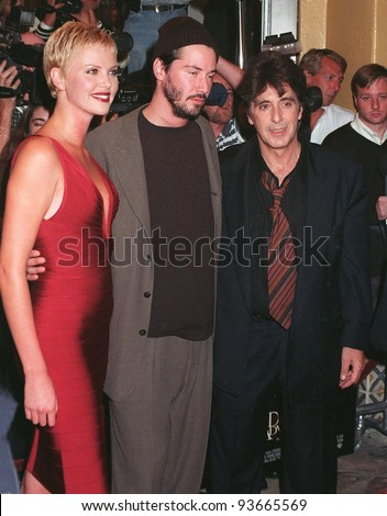 keanu reeves married charlize theron