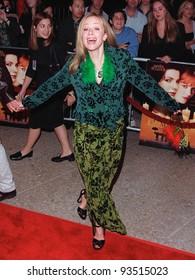 "13OCT98:  Actress LAUREN HOLLY at the Los Angeles premiere of  ""Practical Magic"" which stars Sandra Bullock, Nicole Kidman, Aidan Quinn & Stockard Channing."