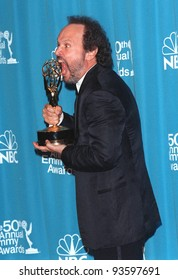 13SEP98:  Actor/comedian BILLY CRYSTAL at the Emmy Awards in Los Angeles. He won for Outstanding Performance in a Variety or Musical for his hosting of the Oscars.