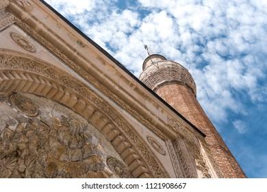13th century religious architecture the Esrefoglu Mosque in Beysehir, Konya. which has original wooden columns.