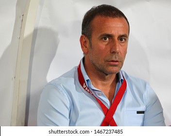 14 August 2013. İstanbul / Turkey Abdullah Avci is a Turkish football manager and the former manager of Turkish national football team.